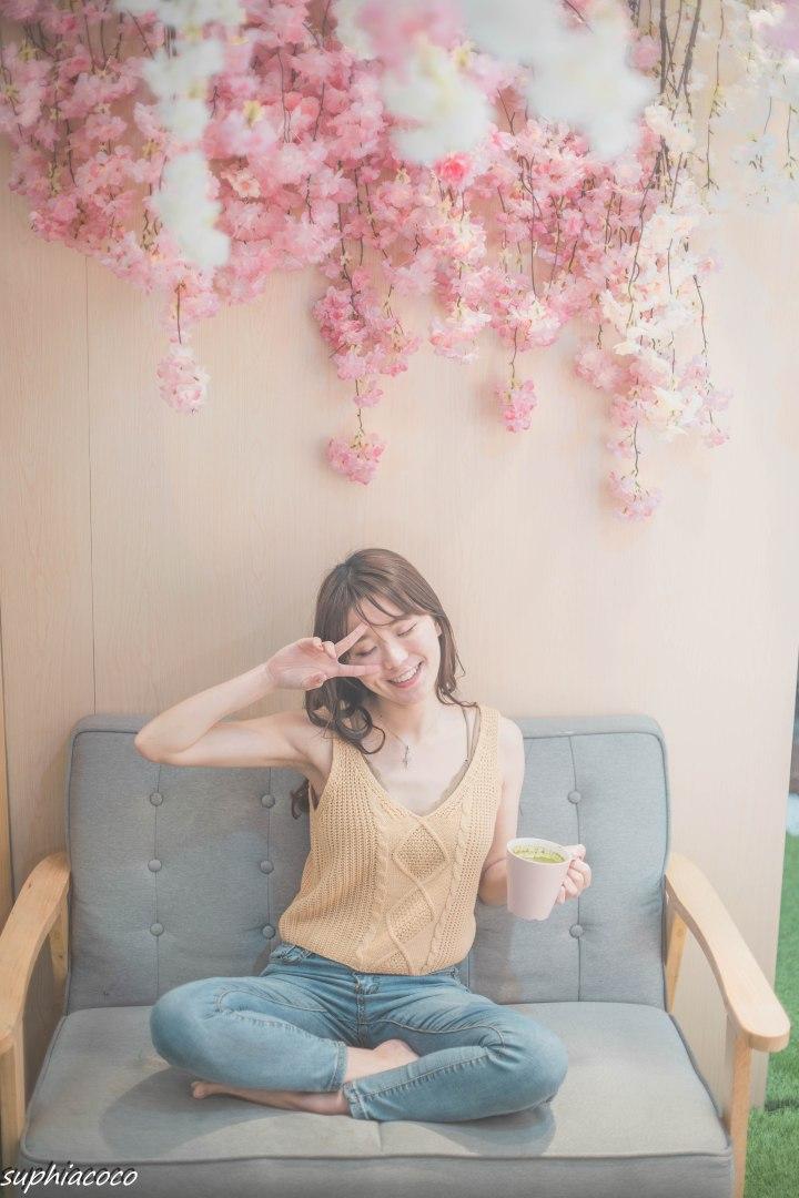 台北|美食|七見櫻堂櫻花季 粉櫻佈景和櫻花甜點 訪櫻赴約 享受浪漫時節與甜點