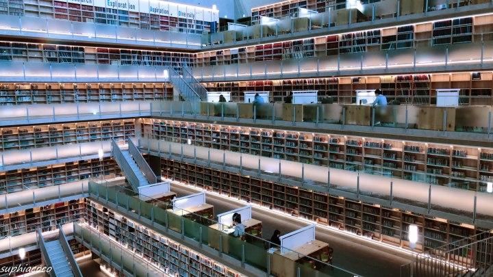 台北|圖書巡禮|媲美韓國星空圖書館 唯美層樓式空間 獨棟湖濱悅讀小屋 政大達賢圖書館